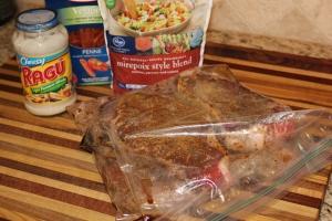 Steak & Alfredo Pasta | PlannedBite