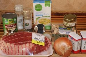 Rump Roast with Mushroom Gravy | PlannedBite