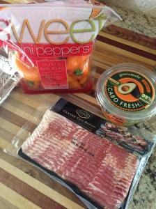 Guacamole Bacon Stuff Pepper Poppers | PlannedBite